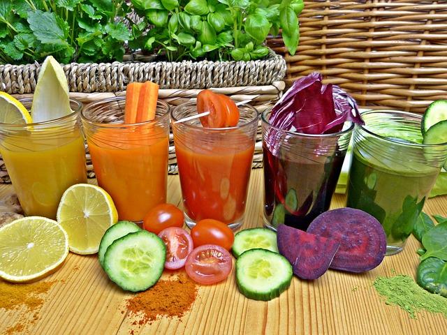 soki owocowe i warzywne